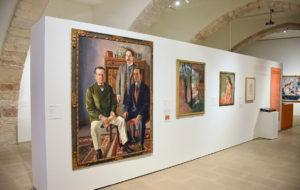 """Imatge de l'exposició """"Realisme(s) a Catalunya 1917-1936"""", al Museu de Maricel de Sitges. Foto: Lluïsa Sala"""
