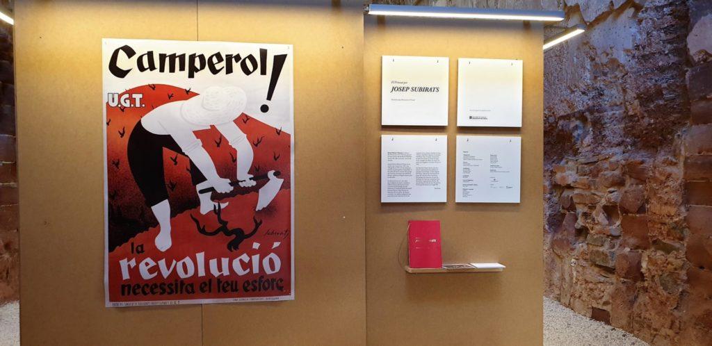 Entrada a la mostra. Foto: Antonio Salcedo