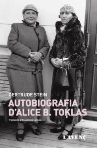 Coberta del llibre Gertrude Stein, recuperat per L'Avenç