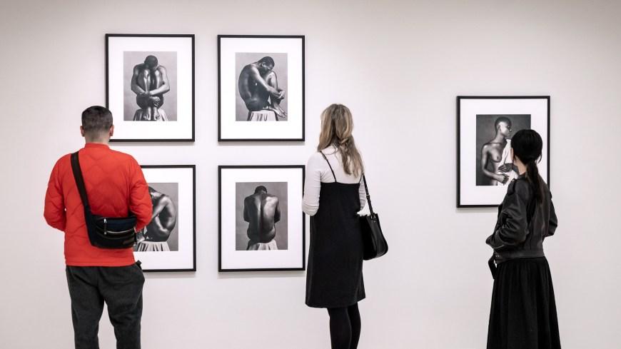 "Imatge de l'exposició ""Implicit Tensions: Mapplethorpe Now"". Foto: Guggenheim"