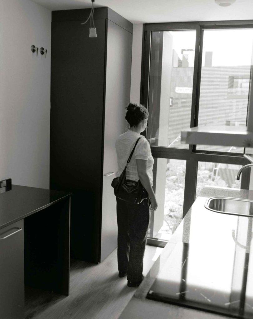 Fátima Duarte, lliurament dels pisos, juny del 2018