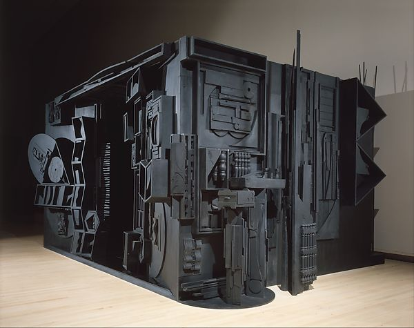 """Mrs. N's Palace"", 1964–77. Louise Nevelson"