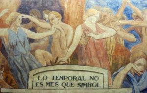 L'obra de Torres-García que va ser reemplaçada. Foto: Wikimedia Commons