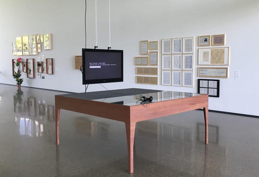 Mesuras, Prácticas en el espacio expositivo,vista de la exposición, jn,2019