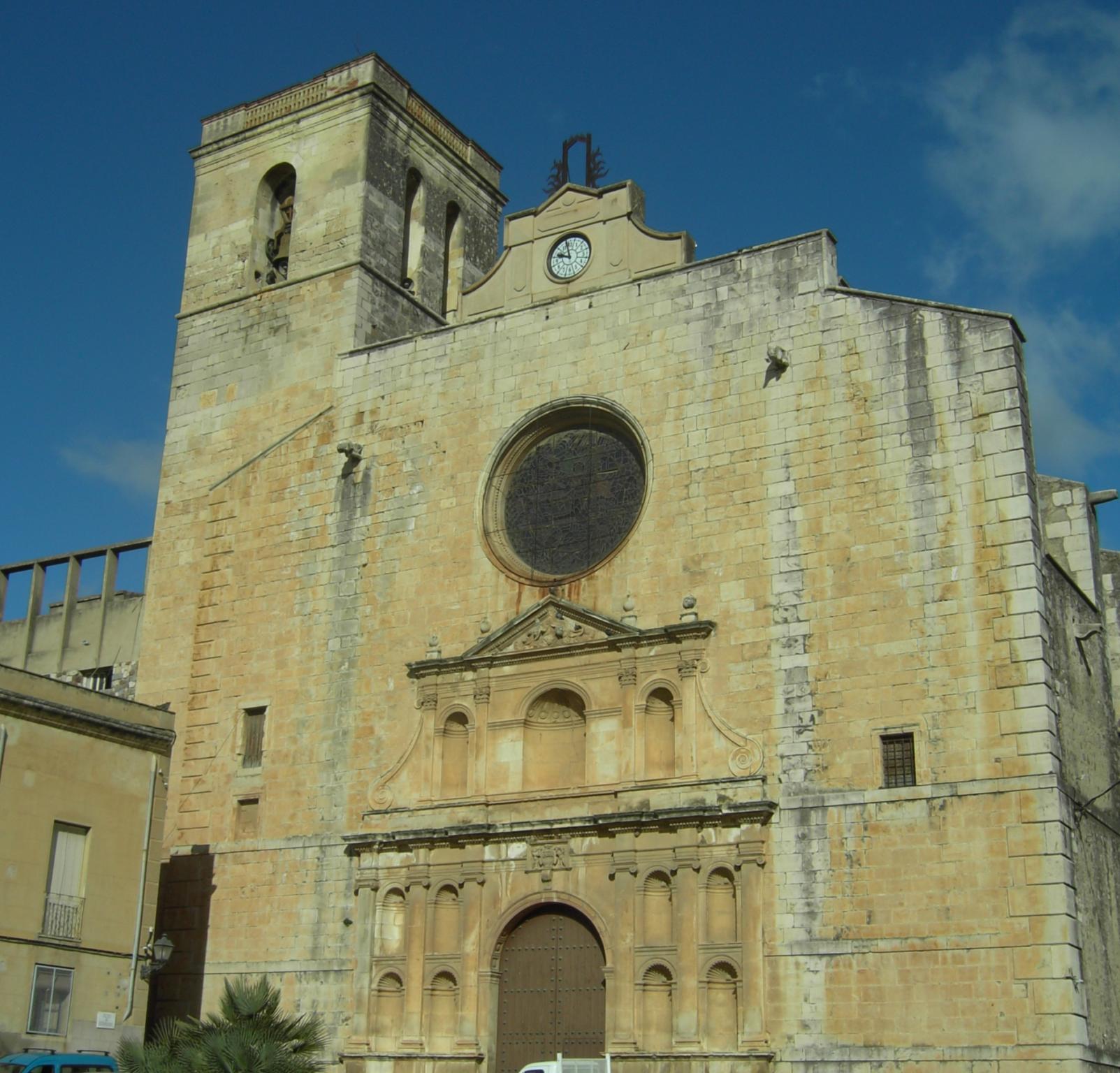 L'església de Sant Jaume de Riudoms. Foto: Wikimedia Commons