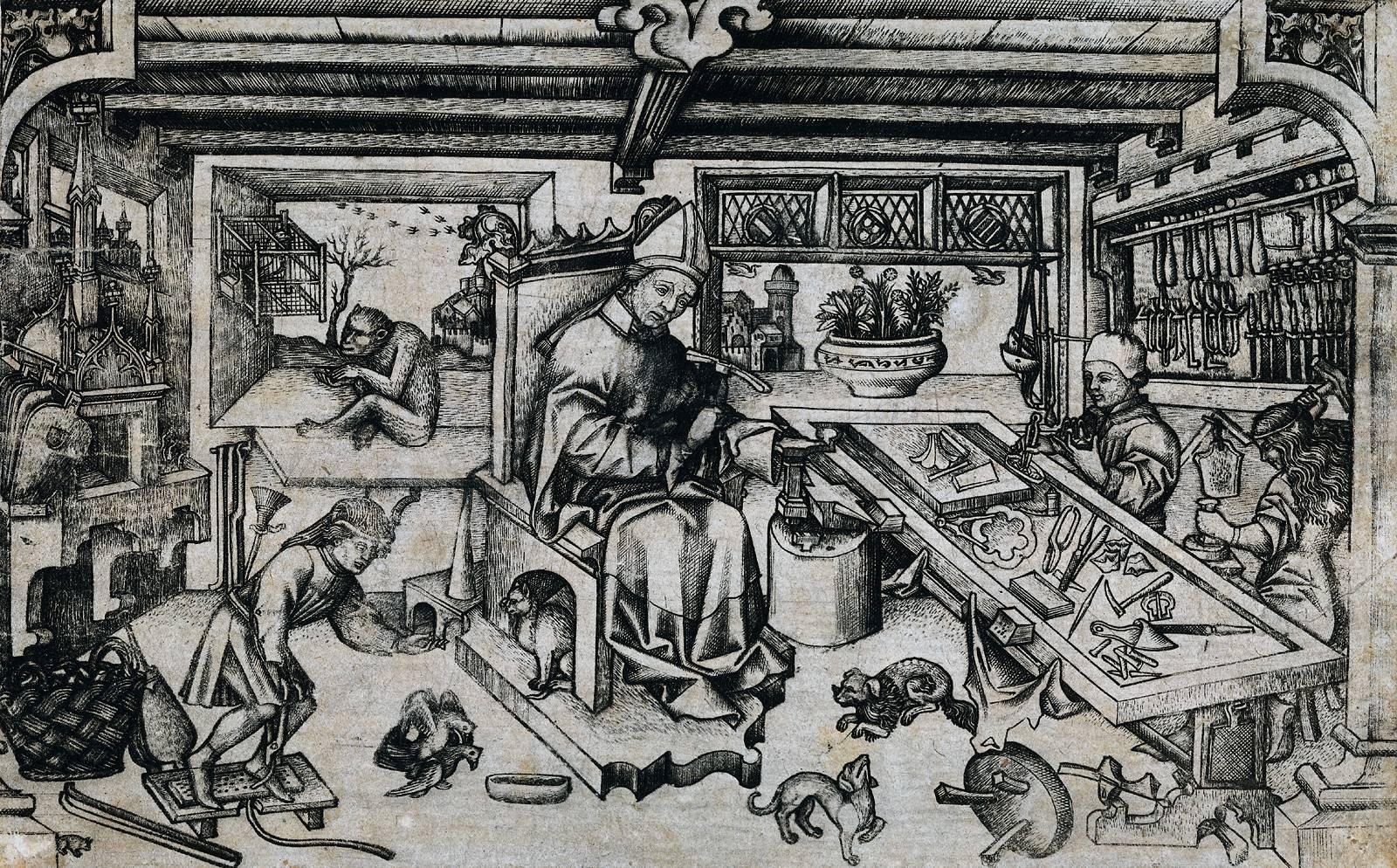 L'orfebreria medieval. Art o artesania? Foto: Wikimedia Commons