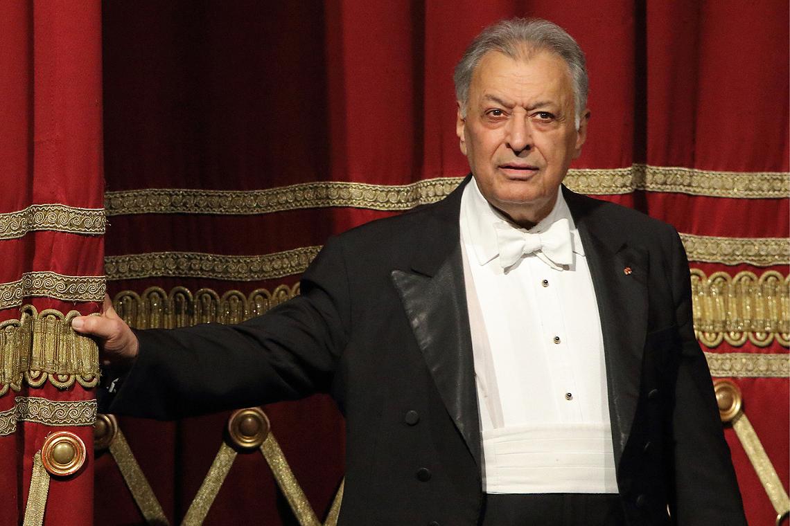 El director Zubin Mehta. Foto: L'Auditori