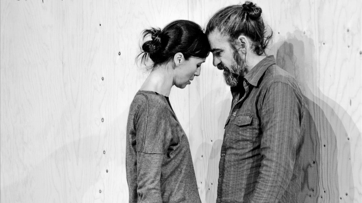 Ariadna Gil i Gonzalo Cunill al 'Vania' d'Àlex Rigola