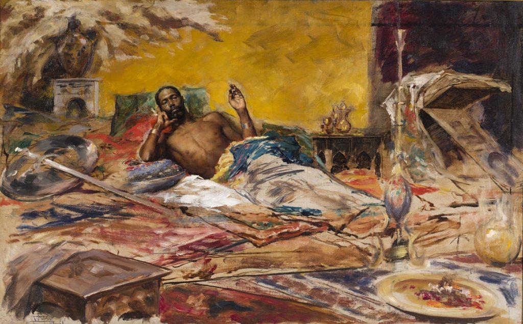 """""""El Guerrer en repòs"""", 1879"""