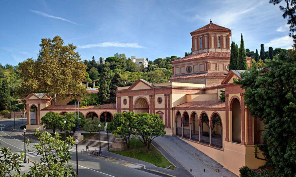 Façana del Museu d'Arqueologia de Catalunya. Fot: Patrimoni Cultural. Generalitat de Catalunya