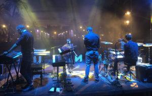Mishima, tocant al Concert per la Llibertat del darrer 11-S, al Passeig Lluís Companys