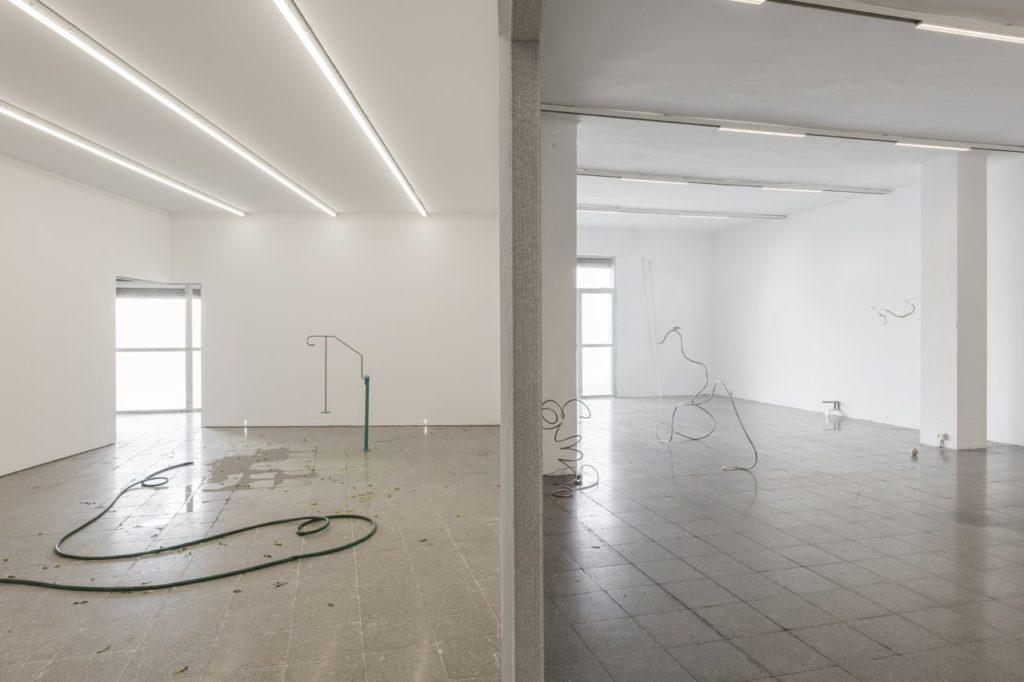 Exposició d'Alejandro Palacín a la Galeria Nogueras Blanchard, a l'Hospitalet de Llobregat. Foto: Conxita Oliver