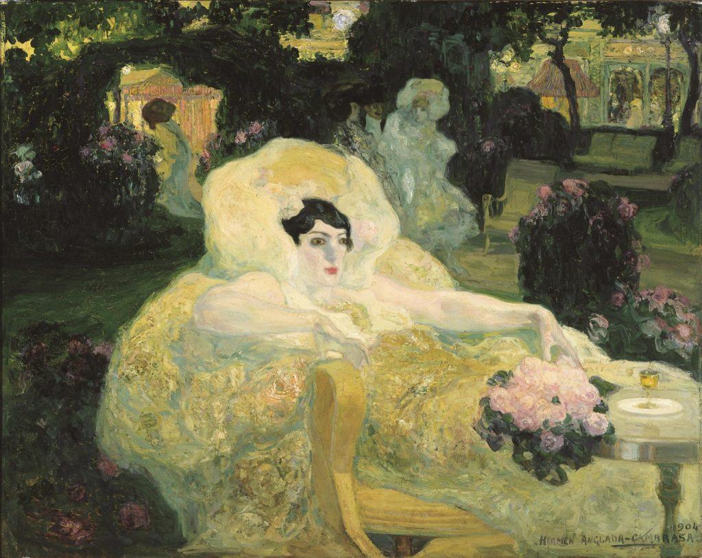 Heren Anglada-Camarasa. Le paon blanc, 1904. Foto: Museum of Russian Impresionism