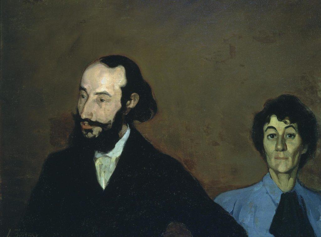 Ignacio Zuloaga. Charles Morice i la seva muller, 1896. Foto: Museum of Russian Impresionism