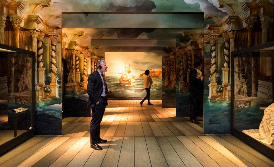 """Una de les imatges de l'exposició """"Opera"""", al Caixaforum. Foto: Caixaforum"""