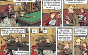 Detall del nou còmic d'Spirou.