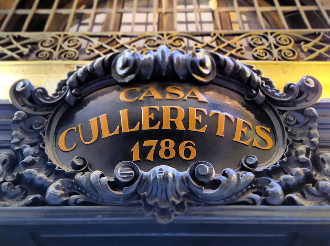 Can Culleretes. Foto: mNACTEC