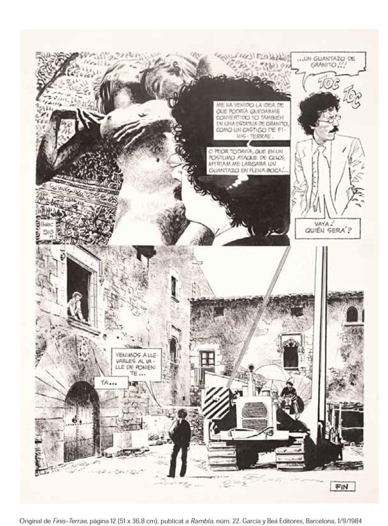 Una de les obres d'Enric Sió, dibuixant de còmics, il·lustrador i humorista gràfic, prematurament desaparegut