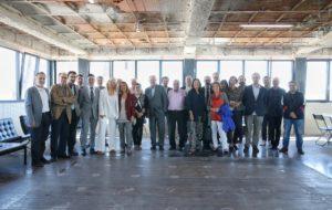 Trobada amb agents de la cultura catalana per presentar la nova etapa d'El Temps de les Arts. Foto: Jordi Play