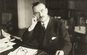 Thomas Mann, en una imatge d'arxiu. Foto: Wikimedia Commons