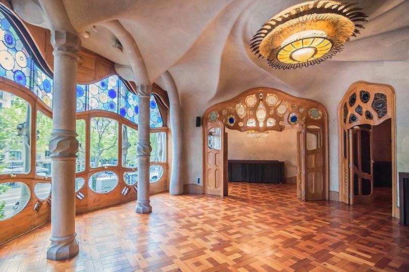 La Casa Batlló, saló principal