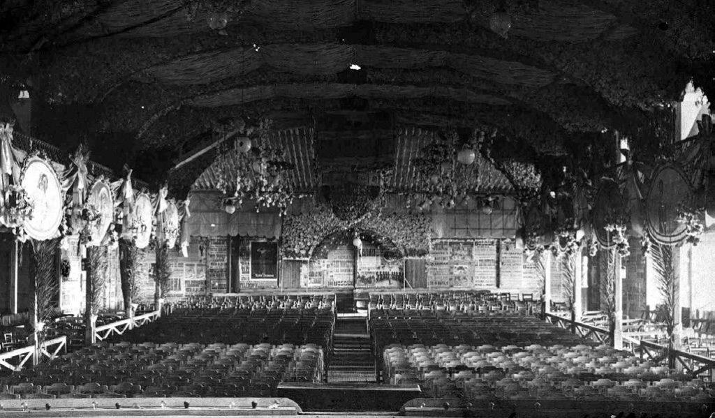 Quan el cinema Bosque era el Gran Teatre El Bosc
