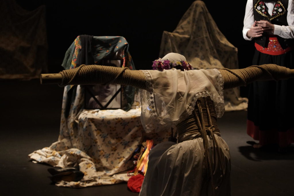 'Una costilla sobre la mesa. Madre', d'Angélica Liddell, ha passat per Temporada Alta 2019. Foto: Luca del Pia