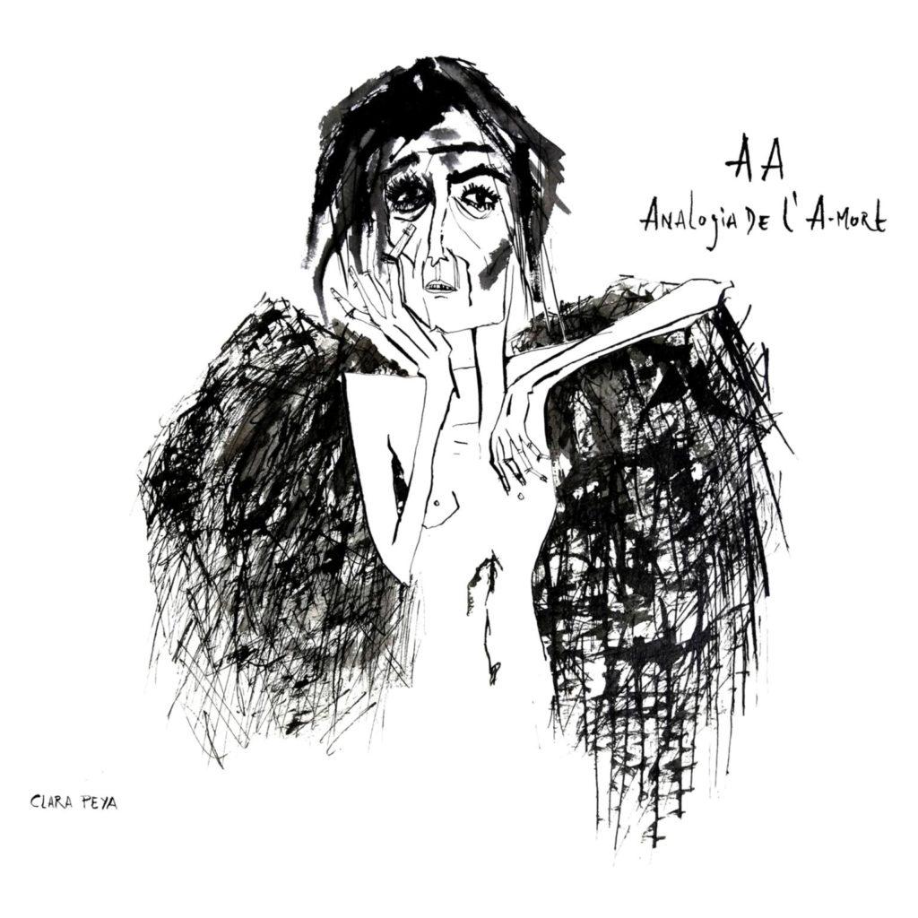 Coberta del darrer disc de Clara Peya