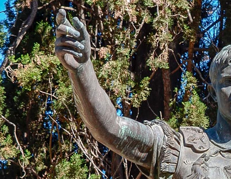 Estatua d'August de Prima Porta a Tarragona
