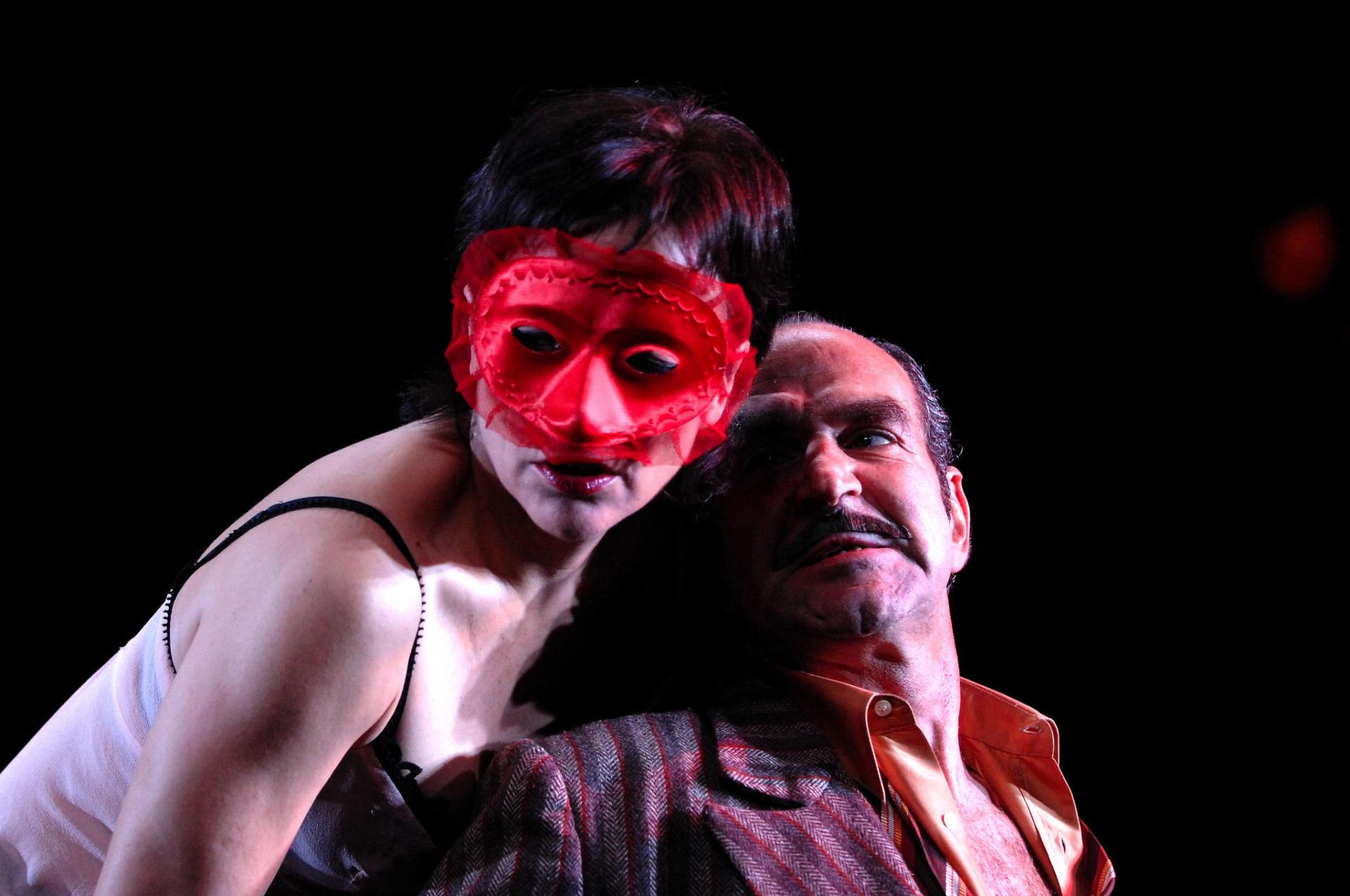 Carme Portaceli va estrenar a Reus, el 2008, 'Què va passar quan Nora va deixar el seu home o Els pilars de les societat'. Foto: David Ruano