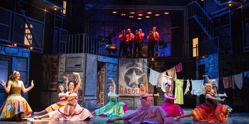 America, escena de West Side Story. Javier Naval