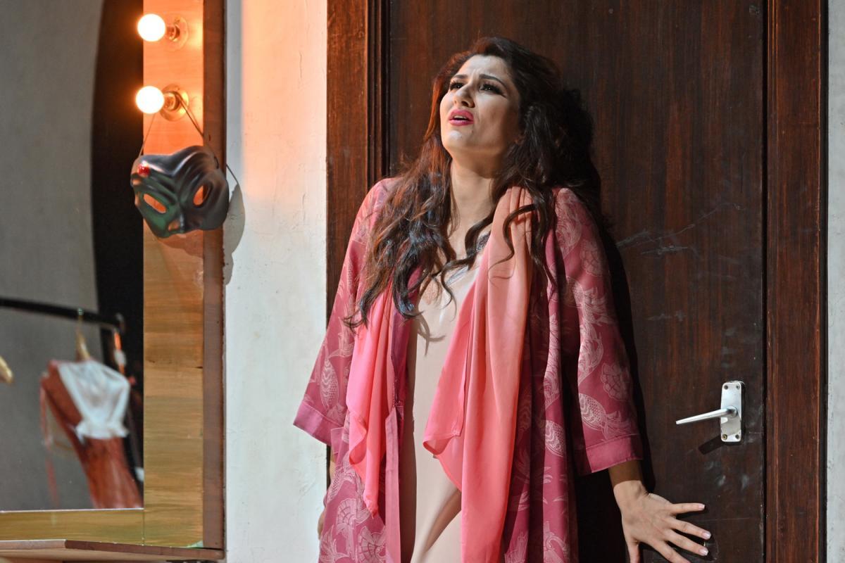 Una escena del doblet 'Cavalleria rusticana' i 'Pagliacci' al Liceu ©A Bofill