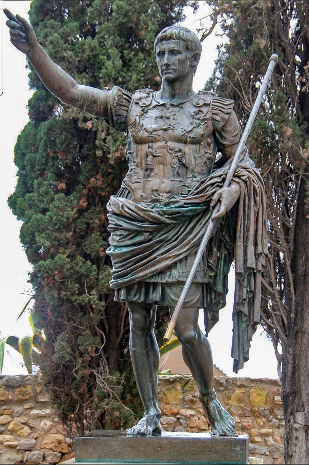 A Tarragona, hi ha una còpia de l'August de Prima Porta.