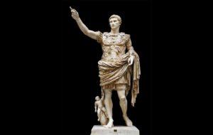 L'estàtua d'August de Prima Porta a Roma