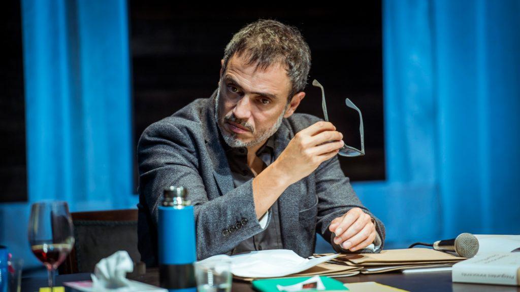 Julio Manrique interpreta un escriptor d'èxit. Foto: David Ruano