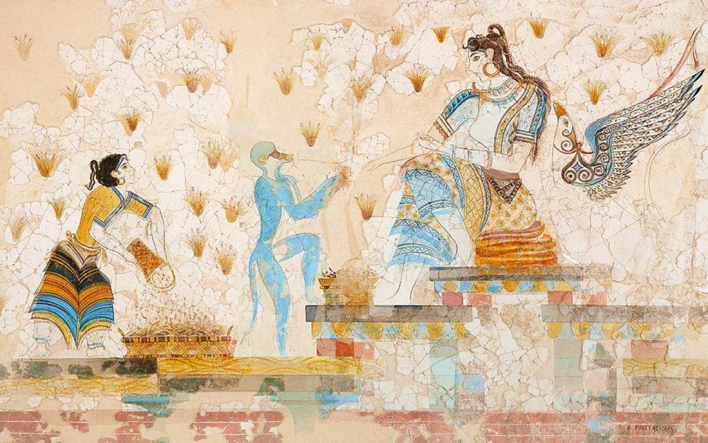 Akrotiri. Deesa del safrà