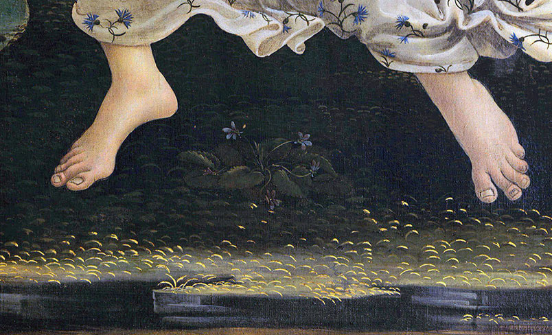 El naixement de Venus - Botticelli