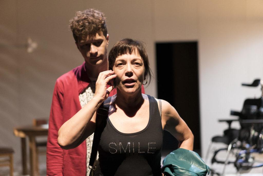 Lluïsa Castells era la protagonista de 'L'alegria', de Marilia Samper. Foto: Kiku Piñol