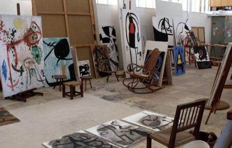 Els tallers de Miró, els escenaris vius de la creació