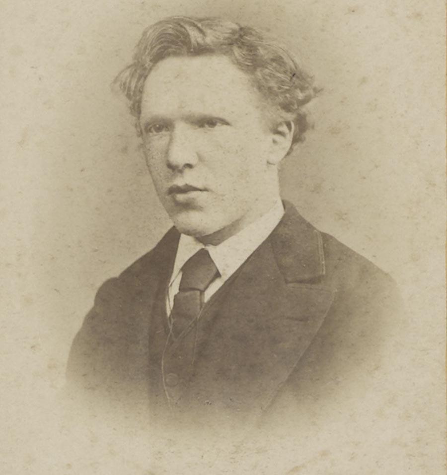 Vincent Van Gogh en un retrat fet el gener de 1873.