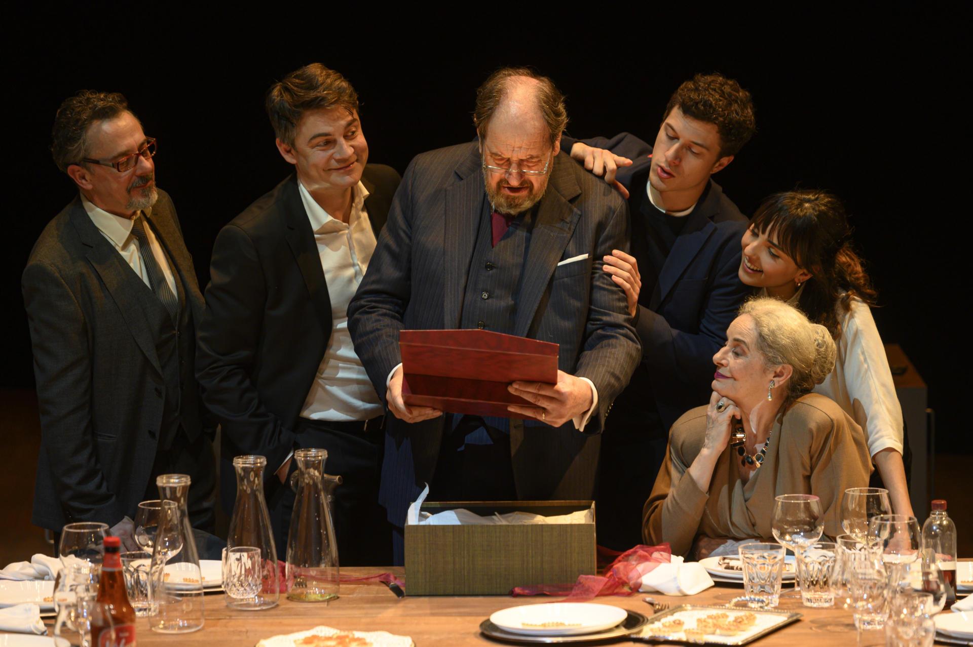 Josep Maria Pou protagonitza 'Justícia' de Guillem Clua al TNC. Foto: May Zircus / TNC