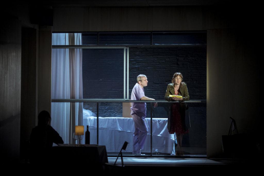 'E.V.A.', de T de Teatre, estava signada per Marc Artigau, Julio Manrique i Cristina Genebat. Foto: David Ruano