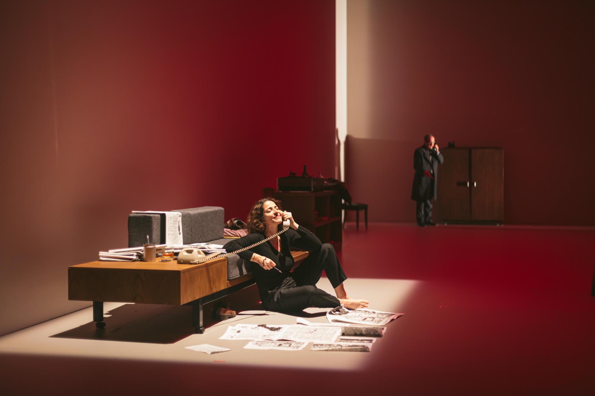 Nora Navas protagonitza El quadern daurat
