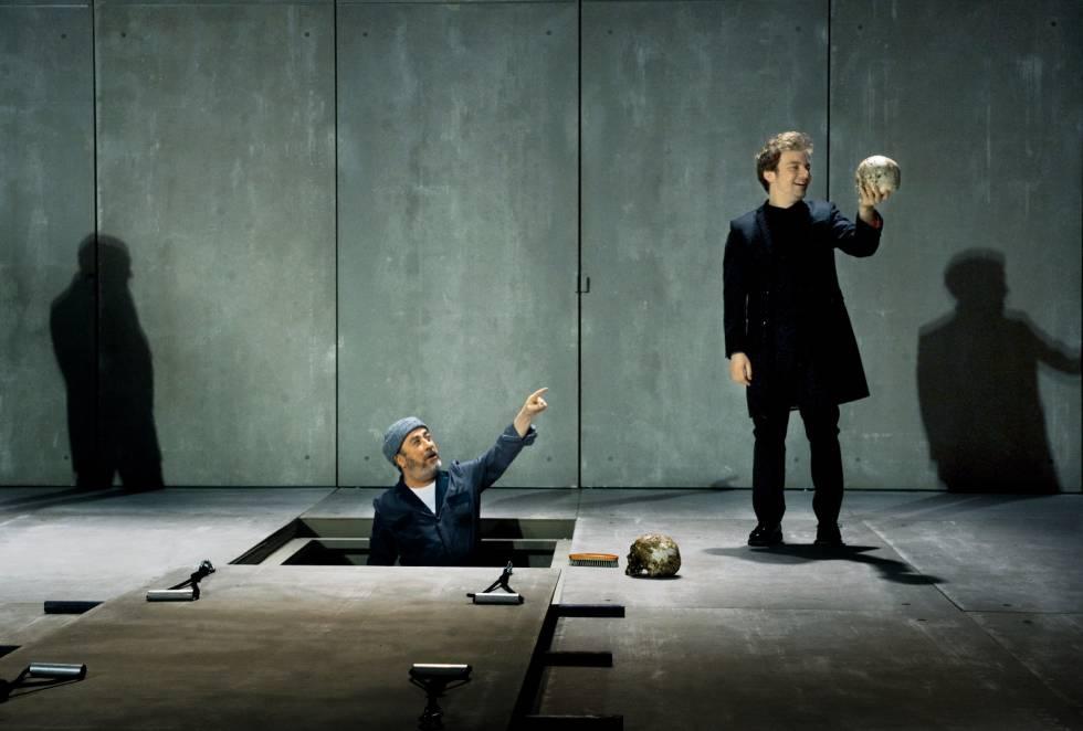 El 'Hamlet' de Pau Carrió ha passat pel canal de YouTube del Lliure. Foto: Ros Ribas