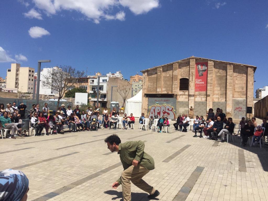 Coincidint amb el Dia Internacional de la Dansa se celebra el Festival de Dansa a Palma. Foto: Arxiu Ajuntament de Palma.