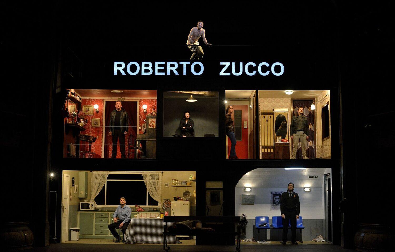 Julio Manrique va dirigir 'Roberto Zucco' al Romea el 2013. Foto: David Ruano