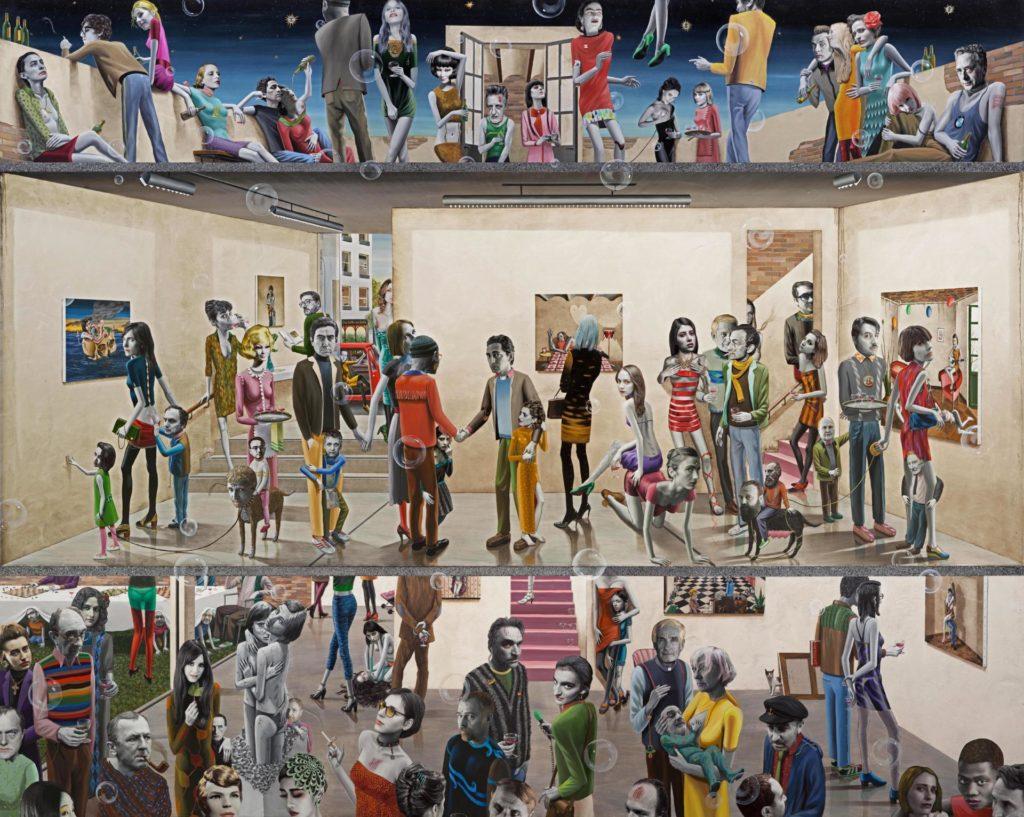 Gino Rubert: The opening , 2017.