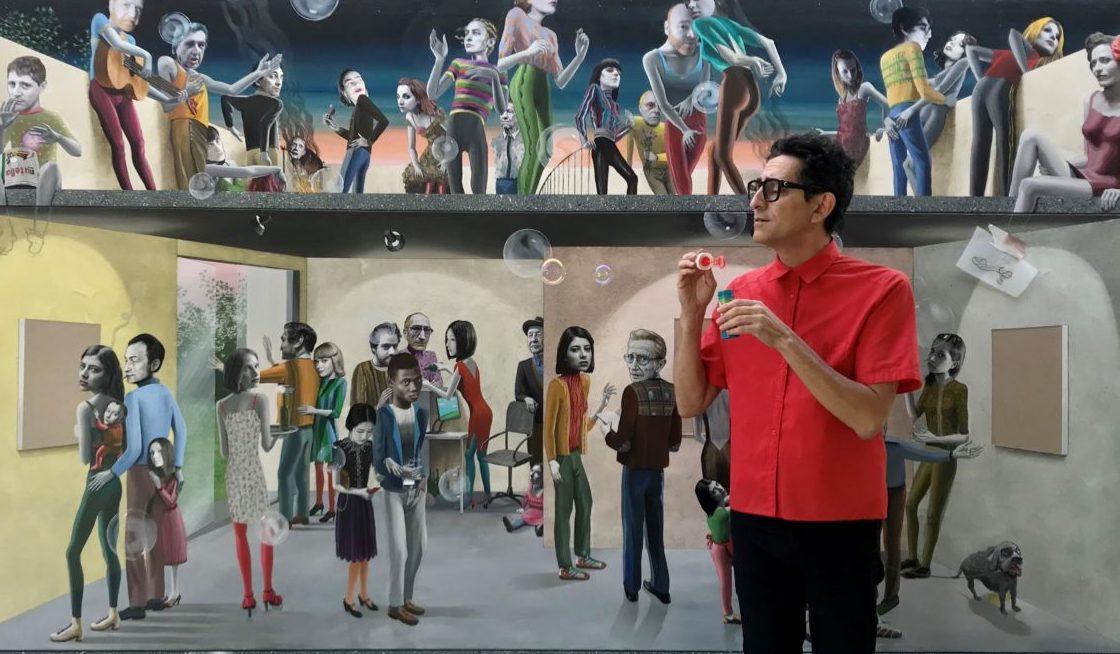 Gino Rubert: El món de l'art (una tragicomèdia)/ Cartell Teatre Romea