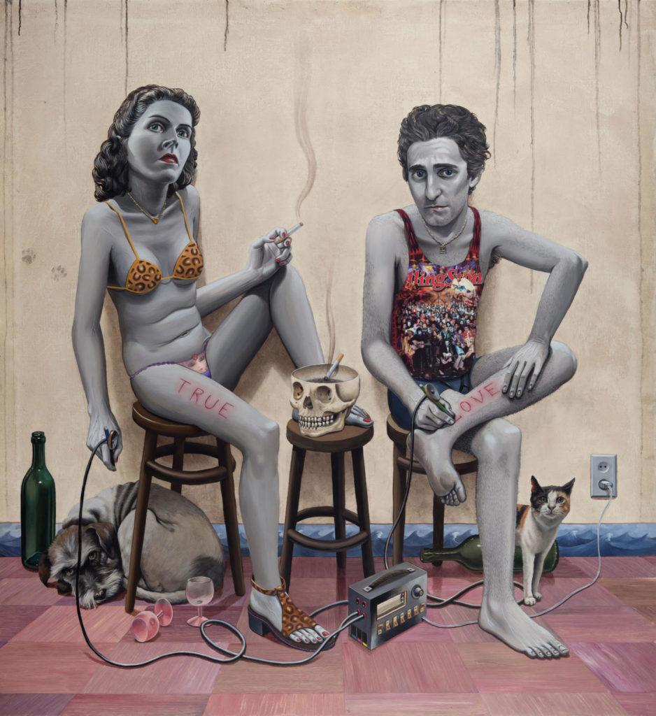 Gino Rubert: True-Love-tattoo, 2014.