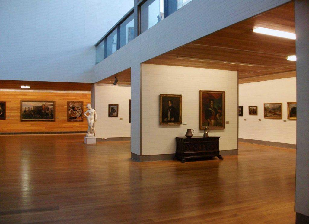 Sala del Museu de Belles Arts de Castelló de la Plana.